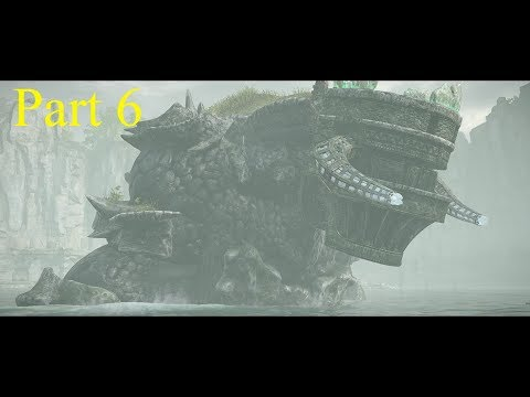 SHADOW OF THE COLOSSUS PART 6/nizthegamer ps4 pro game play