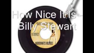 Watch Billy Stewart How Nice It Is video