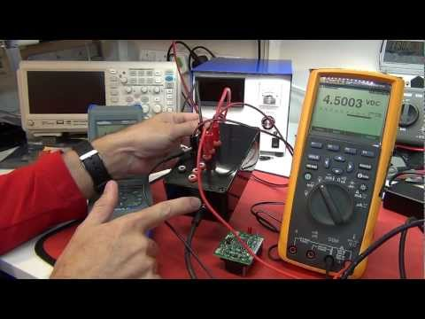 T4D #12 - Electronic DC Load, DMM Reference, Fluke 8846A and Calibration Lab visit