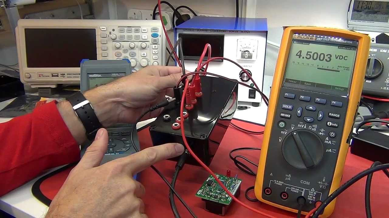 T4d 12 Electronic Dc Load Dmm Reference Fluke 8846a And Scope8217s Time Base Calibrator Calibration Lab Visit Youtube