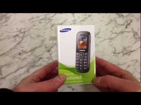 Samsung E1200 Unboxing and Review