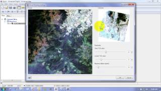 Automatic Cloud Detection and Haze Removal in Geomatica