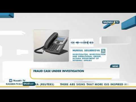Fraud case under investigation - Kazakh TV