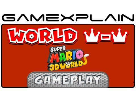 Secret Final Level in Super Mario 3D World: World Crown's Champion's Road Playthrough