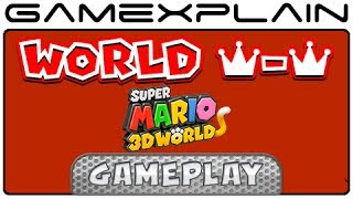 Secret Final Level in Super Mario 3D World: World Crown