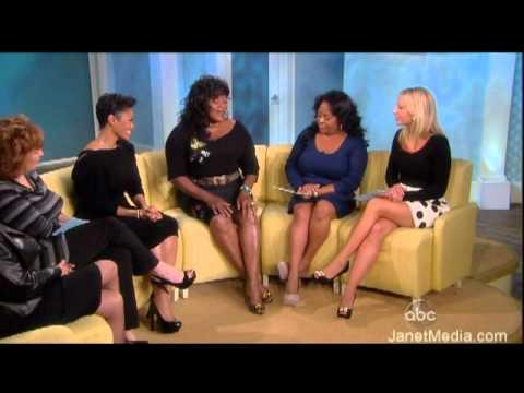 FULL Janet Jackson & Loretta Devine The View 10-25-10