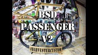 BSD PASSENGER (Kriss Kyle) v2 Frame Build @ Harvester Bikes