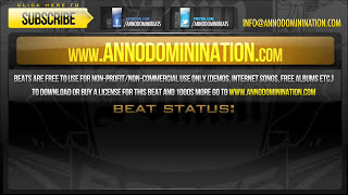 """Aggressive hip hop beat with synth """"knock down"""" - anno domini beats"""