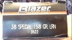 Blazer LRN 38 spl. ammo Buyer Beware