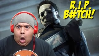 RUNNING FOR MY F#%KING LIFE!!! [DEAD BY DAYLIGHT: MICHAEL MYERS]