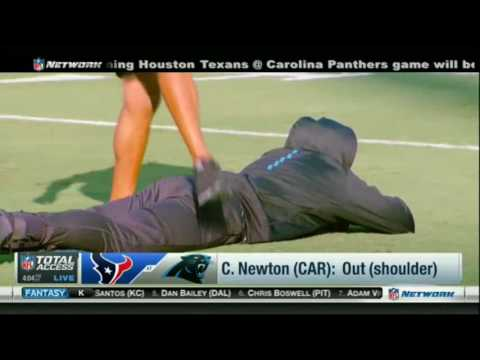 Cam Newton & S. Smith Sr. teammates, Panthers vs Texans   NFL Total Access