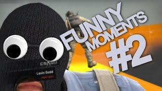 CS GO FUNNY MOMENTS & FAILS 2