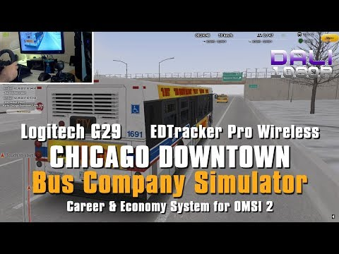 01e436077bf Jimmy Dali's Blog: OMSI 2 BCS Chicago Downtown Add-on Logitech G29 + EDTracker  Pro Wireless.