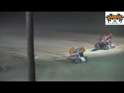 I-96 Speedway 10/13/18 - Great Lakes Super Sprints Heat Race Number Three