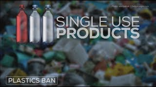 What will Trudeau's single-use plastic ban include?