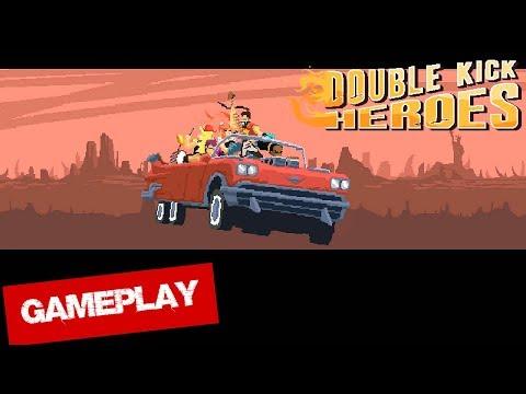Double Kick Heroes * GAMEPLAY |