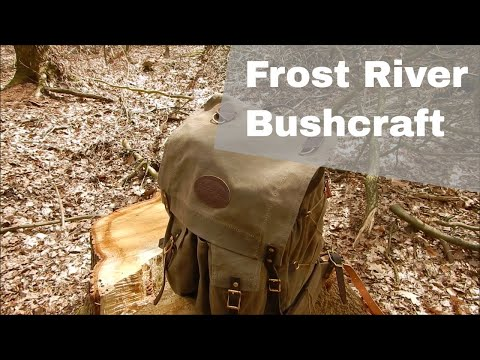 Frost River Isle Royale Bushcraft - Natural Bushcraft #2 (Engl. Subs)