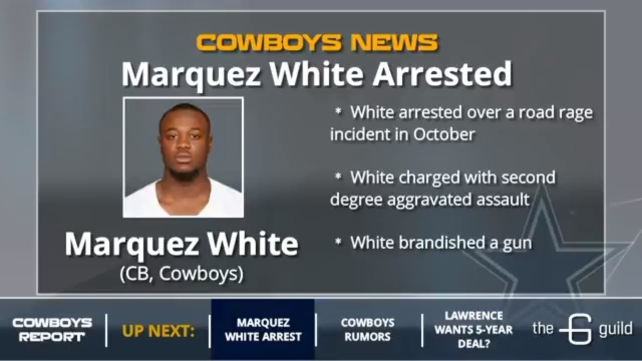 CB Marquez White Arrested For Flashing Gun to  defend himself against White driver