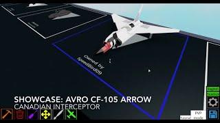 Vetrina Roblox: La freccia Avro CF-105