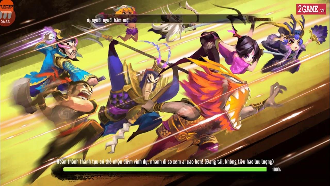 Cận cảnh game mobile 3QVL - Vua Tam Quốc GO ngày đầu ra mắt tại Việt Nam