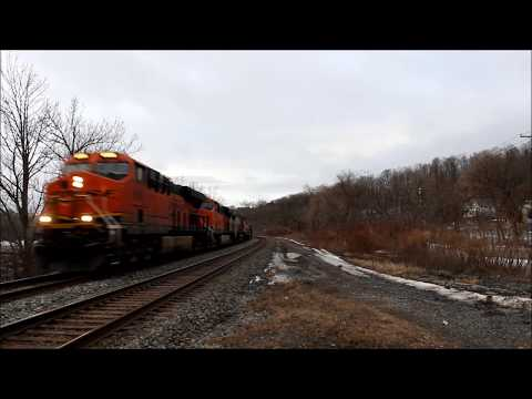 Railfanning Amsterdam NY with Warbonnet 2 21 18