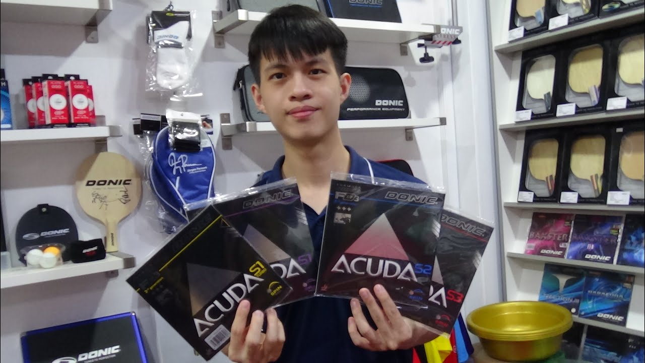 Donic Acuda Rubber Series Review