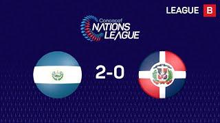 #CNL Resumen - El Salvador 2-0 República Dominicana