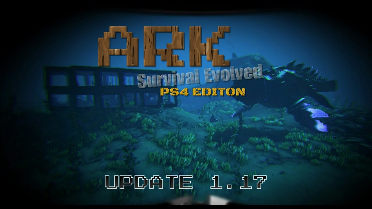 Ark Survival Evolved Ps4 Update 1 17 Unterwasser Basis Youtube
