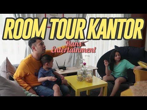 ROOM TOUR KANTOR RANS ENTERTAINMENT #RANSVLOG