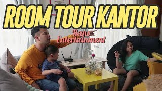 ROOM TOUR KANTOR RANS ENTERTAINMENT #RANSVLOG