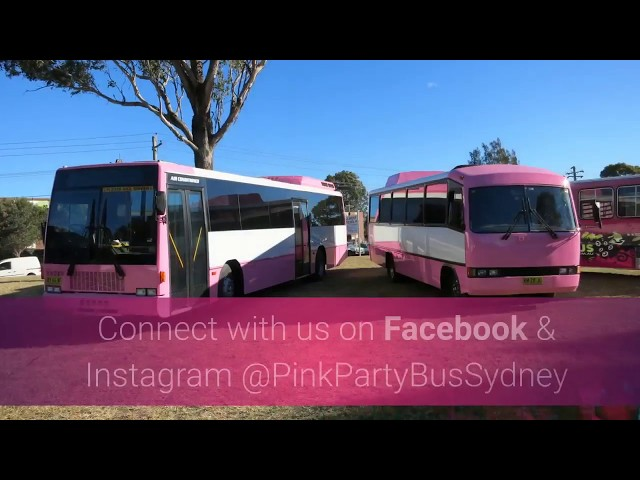 PINK PARTY BUS SYDNEY
