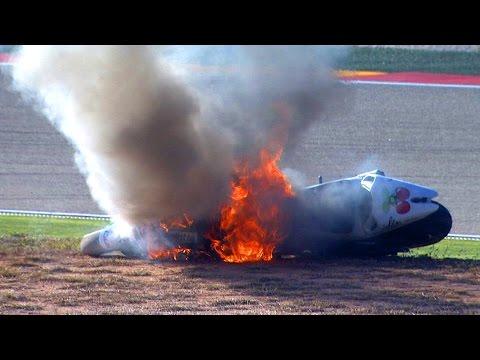 MotoGP™ Aragon 2014 – Biggest Crashes
