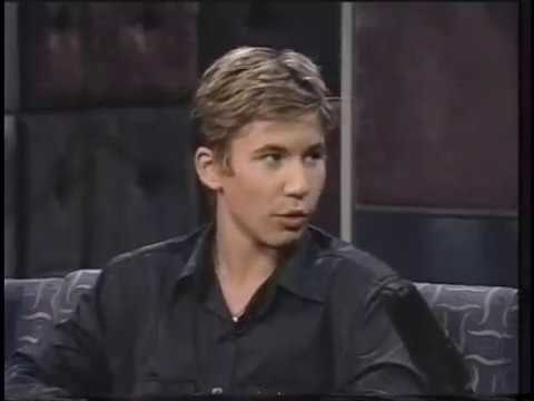 "Jonathan Taylor  Thomas promotes his movie ""Wild America"" in 1997"