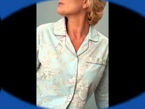 Ladies cotton pajamas