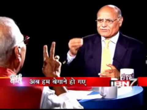 Teekhi Baat With Yashwant Sinha_Prabhu Chawla_IBN7