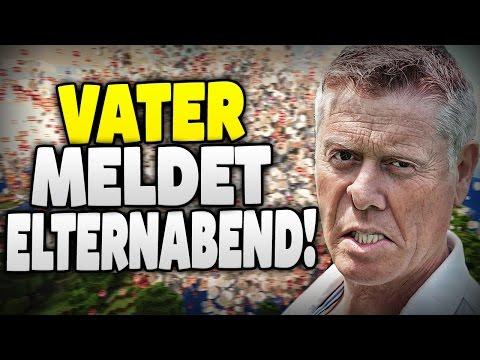 VATER MELDET MICH BEIM ELTERNSPRECHTAG !! - VATER KOMMT IN DEN TEAMSPEAK !!! - Minecraft TROLLING