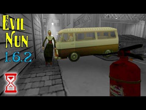 Эксперимент: устранить Монахиню до полёта на шаре   Evil Nun 1.6.2