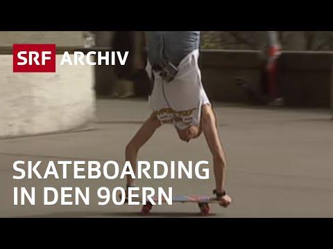 Skateboardszene in Bern (1990) | Skateboarder in der Schweiz | SRF Archiv