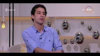 8 الصبح - أحمد عبد الله طالب كلية الزراعة يبتكر مشروع من دودة القز لإنتاج الحرير طول السنة