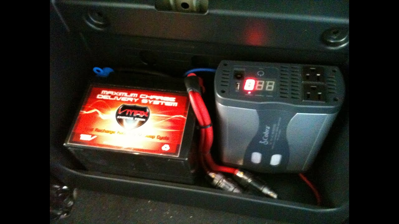 Adding Second Battery To Car