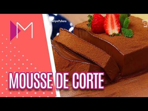 Mousse de chocolate de corte - Mulheres (10/05/18)
