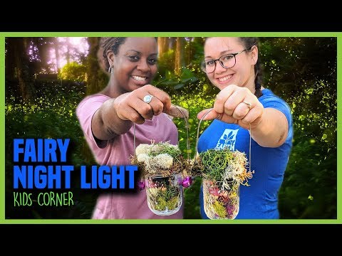 DIY Fairy Lantern | Glow Jars | Night Light | Kids Corner | Earth Works Jax
