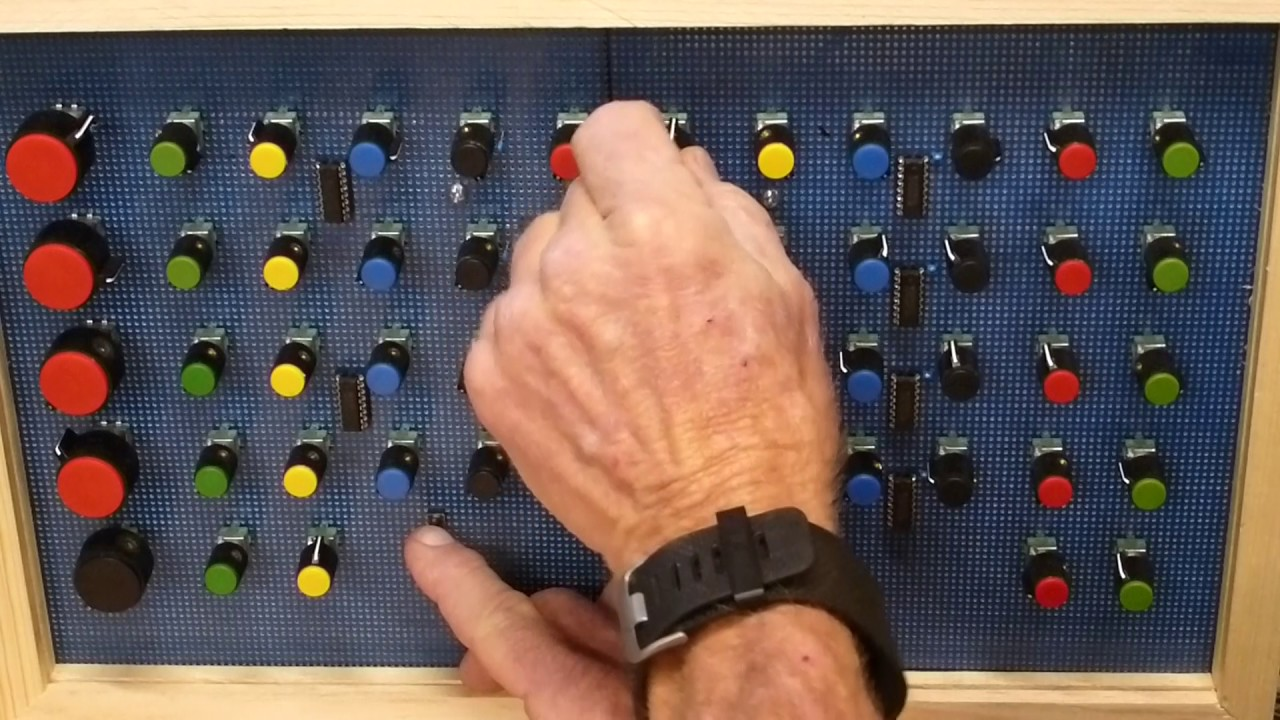 Teensy Synth Breadboard Test Youtube How To Make Capacitor Charging Discharging Circuitinteresting