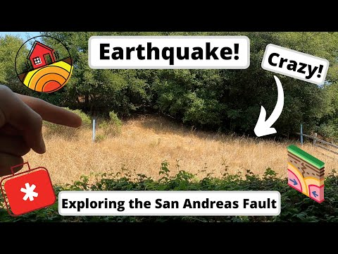 On The San Andreas Fault! Vlog #18