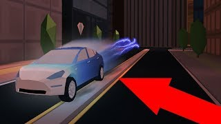 Level 5 engine Lambo vs tesla ROblox jailbreak!!