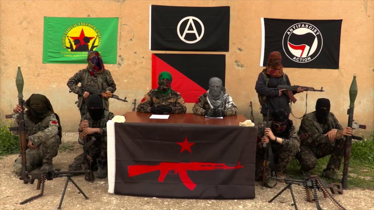 """Nace la guerrilla anarquista """"IRPGF"""" en Rojava para luchar por la ..."""
