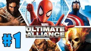 Marvel: Ultimate Alliance - Walkthrough - Part 1 - SHIELD Helicarrier (PC HD) [1080p60FPS]