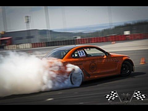 BMW 1M + V10 Engine = TIRE SLAYER!! Drifting, V10 sounds