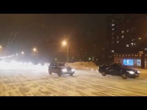 Ульяновск 20 01 18 Заволжье Яндекс такси бастуют!