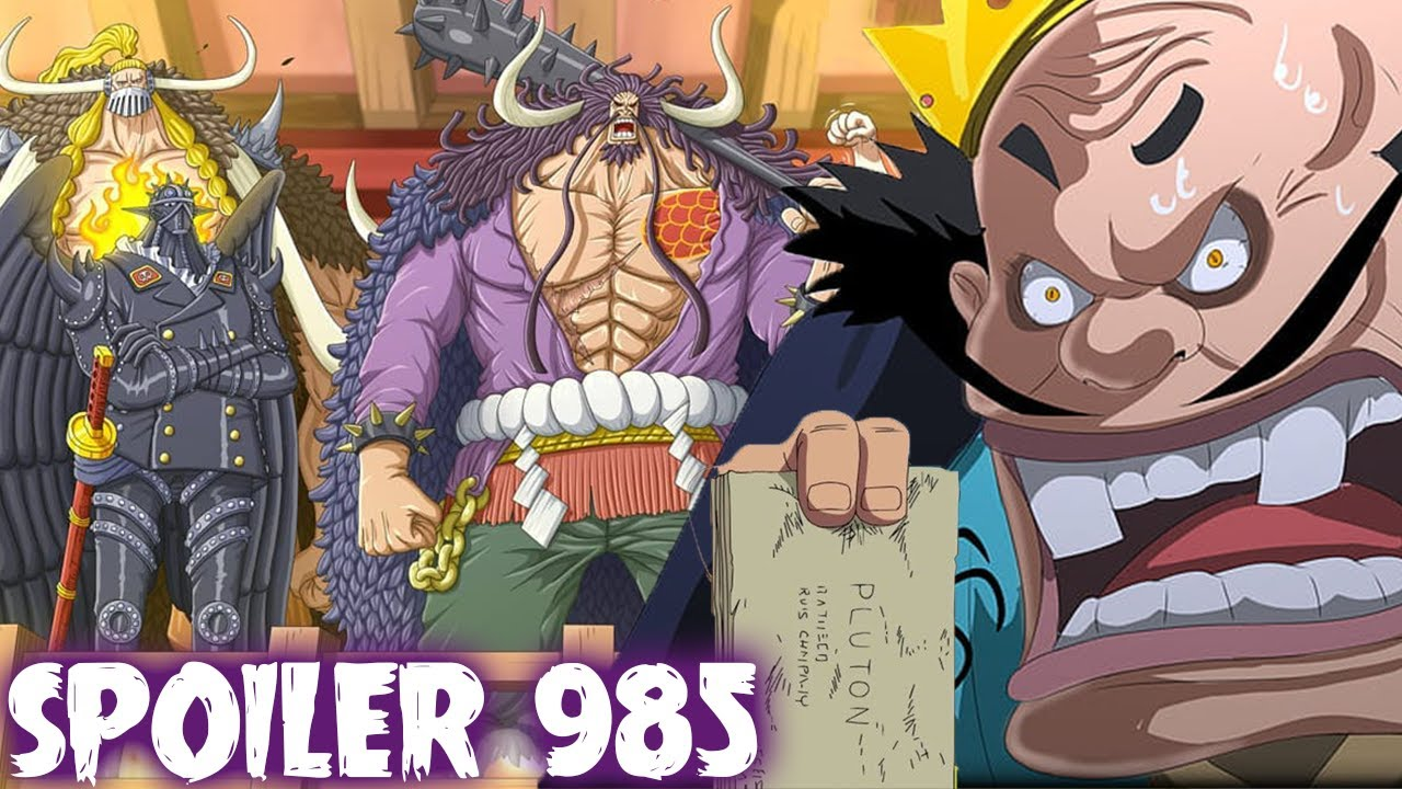 Spoiler Op 985 Orochi Mati Kaido Mencari Ancient Weapon One Piece 985 Youtube